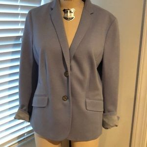 Talbot's Robin Egg Blue blazer